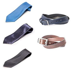 STANDAR Krawatten und Gürtel